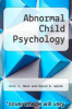 cover of Abnormal Child Psychology (7th edition)