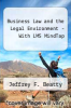 cover of Business Law and the Legal Environment - With LMS MindTap (8th edition)