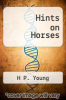 cover of Hints on Horses