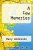 cover of A Few Memories