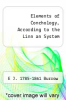 cover of Elements of Conchology, According to the Linn an System