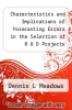 cover of Characteristics and Implications of Forecasting Errors in the Selection of R & D Projects