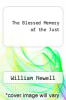 cover of The Blessed Memory of the Just