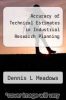 cover of Accuracy of Technical Estimates in Industrial Research Planning