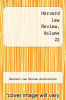 cover of Harvard Law Review, Volume 22
