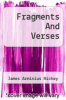 cover of Fragments And Verses