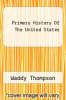 cover of Primary History Of The United States