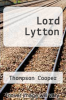 cover of Lord Lytton