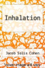 cover of Inhalation
