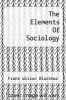 cover of The Elements Of Sociology