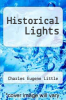 cover of Historical Lights