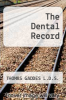cover of The Dental Record