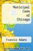 cover of Municipal Code of Chicago