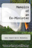 cover of Memoirs of an Ex-Minister