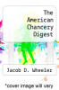 cover of The American Chancery Digest