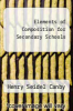 cover of Elements of Composition for Secondary Schools