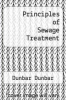 cover of Principles of Sewage Treatment
