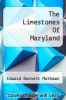cover of The Limestones Of Maryland