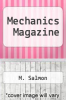 cover of Mechanics Magazine