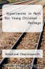 Experiences in Math for Young Children - Package by Rosalind Charlesworth - ISBN 9781401886097