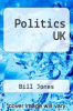 cover of Politics UK (5th edition)