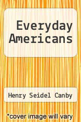 Cover of Everyday Americans  (ISBN 978-1407732572)