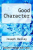 cover of Good Character