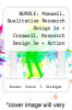 cover of BUNDLE: Maxwell, Qualitative Research Design 2e + Creswell, Research Design 3e + Action Research 3e: Maxwell, Qualitative Research Design 2e + Creswell, Research Design 3e + Action Research 3e