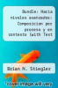cover of Bundle: Hacia niveles avanzados: Composicion por proceso y en contexto (with Text Audio CD) + Merriam-Webster`s Spanish-English Dictionary (1st edition)