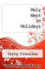 cover of Holy Ways in Holidays