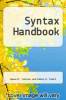 cover of The Syntax Handbook (2nd edition)