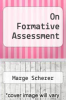 cover of On Formative Assessment