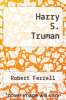 cover of Harry S. Truman
