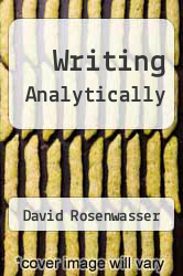 Cover of Writing Analytically 5 (ISBN 978-1428229891)