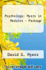 Psychology: Myers in Modules-Package by Myers - ISBN 9781429201384
