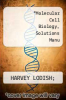 cover of Molecular Cell Biology, Solutions Manu