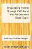 cover of Developing Person Through Childhood and Adolescence (Comp Copy)