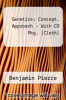 Genetics: Concept. Approach - With CD Pkg. (Cloth) by Benjamin Pierce - ISBN 9781429225687