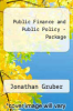 cover of Public Finance and Public Policy - Package (2nd edition)