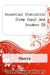 Cover of Essential Statistics (Comp Copy) and Student CD EDITIONDESC (ISBN 978-1429239776)