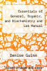cover of Essentials of General, Organic, and Biochemistry and Lab Manual