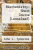 cover of Biochemistry: Short Course (Looseleaf)