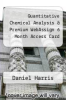 cover of Quantitative Chemical Analysis & Premium WebAssign 6 Month Access Card