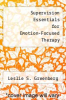 cover of Supervision Essentials for Emotion-Focused Therapy