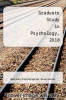 cover of Graduate Study in Psychology, 2018 ( edition)