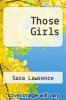 cover of Those Girls