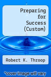 Cover of Preparing for Success (Custom) 09 (ISBN 978-1435442481)