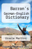 cover of Barron`s German-English Dictionary (2nd edition)