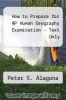 cover of Barron`s AP Human Geography, 6th Edition (6th edition)