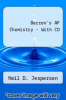 cover of Barron`s AP Chemistry with CD-ROM, 8th Edition (8th edition)